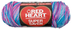 heart super saver jumbo yarn bonbon