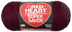 heart super saver jumbo yarn claret
