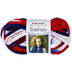 heart boutique sashay yarn-patriotic yarn sassy